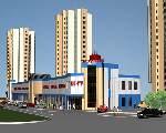 17045 Торговий центр Вишенька,   Винница вул. Квятека ул./Келецкая ул.